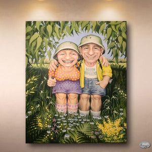 Something to Smile About...'Happy Ramblers' by Tasmanian artist, Zina Kurtschenko