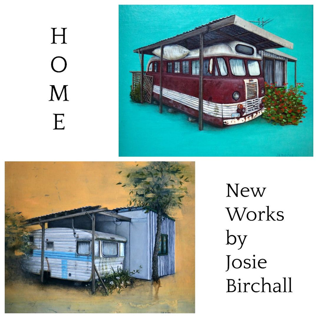 New Works by Josie Birchall at Gallery Salamanca Hobart Tasmania