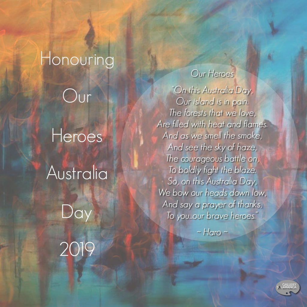 Honouring Our Heroes Australia Day 2019 at Gallery Salamanca Hobart Tasmania