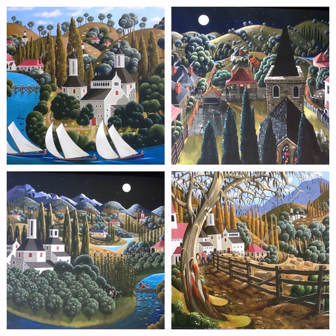 New Works by George Callaghan at Gallery Salamanca Tasmania