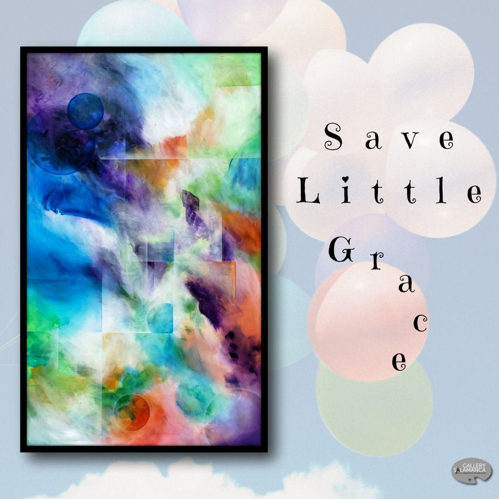 "Please Support Us in ""Saving Little Grace"" - Gallery Salamanca in Hobart Tasmania"