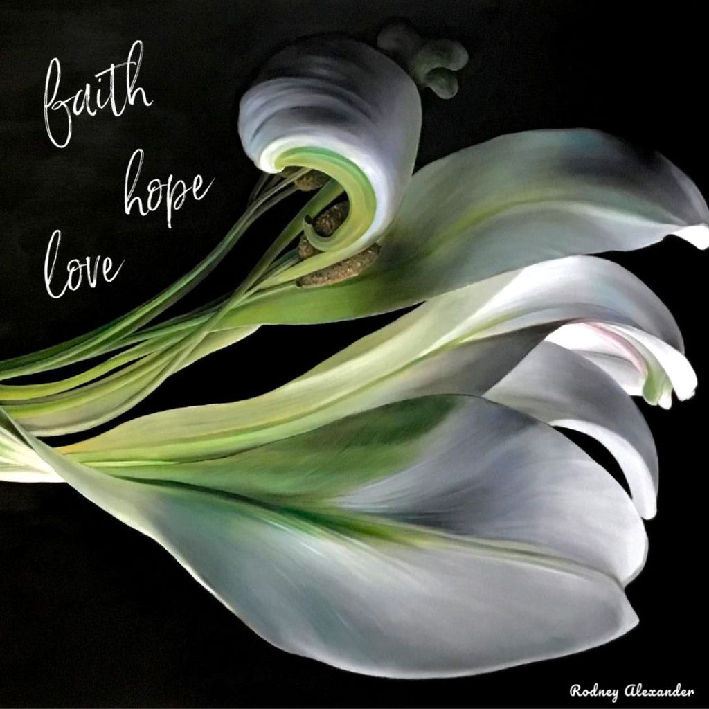 Wishing you Faith, Hope and Love this Easter from Gallery Salamanca in Hobart Tasmania