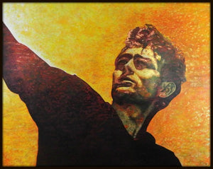 Andrew Causon Painting ~ 'James Dean' - Gallery Salamanca