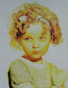 Andrew Causon Painting ~ 'Little Miss Miracle' - Gallery Salamanca Tasmania
