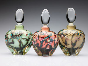 Glass Manifesto ~ Wildflower Perfume Bottles