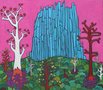 Bobby-Z Lambert Painting ~ 'Blue Peak and His Friend Mr Gumtree'