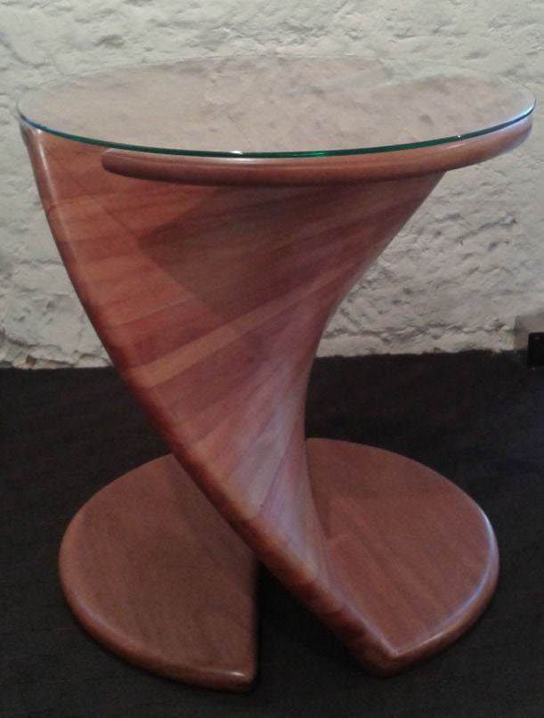 Chris Quinn Furniture ~ Spiral Side Table   Gallery Salamanca