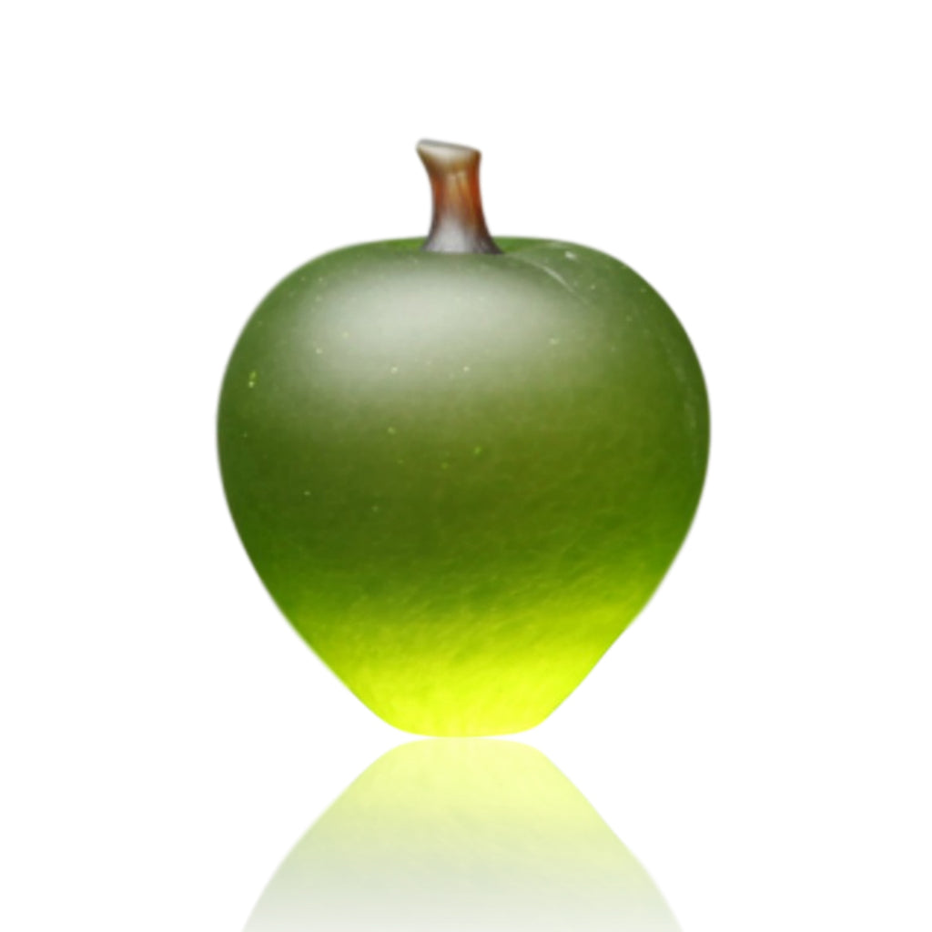 Denizen Hand-Blown Glass ~ Apple (Lime) - Gallery Salamanca Hobart Tasmania