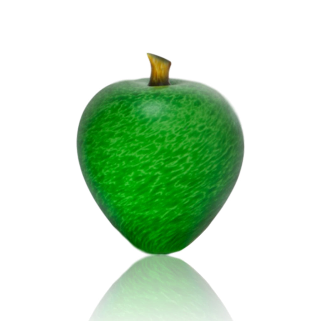 Denizen Hand-Blown Glass ~ Apple (Spring Green) - Gallery Salamanca Hobart Tasmania