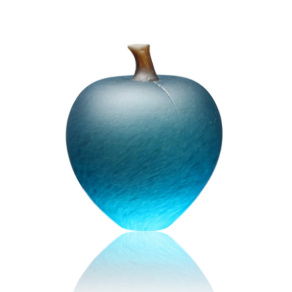 Denizen Hand-Blown Glass ~ Apple (Turquoise) - Gallery Salamanca Hobart Tasmania