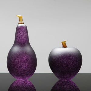 Denizen Hand-Blown Glass ~ Fruit (Hyacinth) - Gallery Salamanca Hobart Tasmania