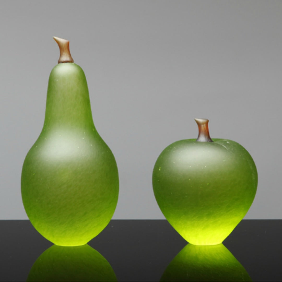 Denizen Hand-Blown Glass ~ Fruit (Lime) - Gallery Salamanca Hobart Tasmania