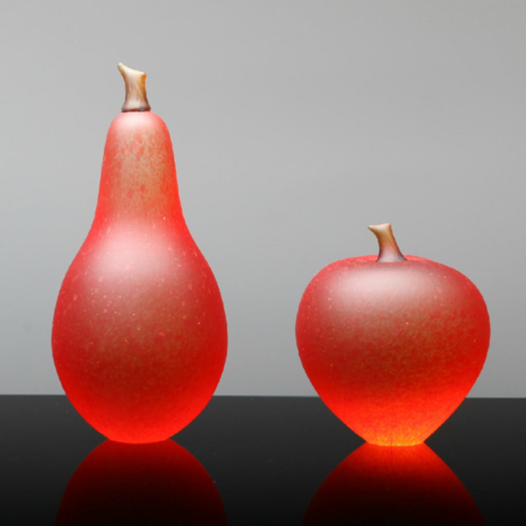 Denizen Hand-Blown Glass ~ Fruit (Orange) - Gallery Salamanca Hobart Tasmania
