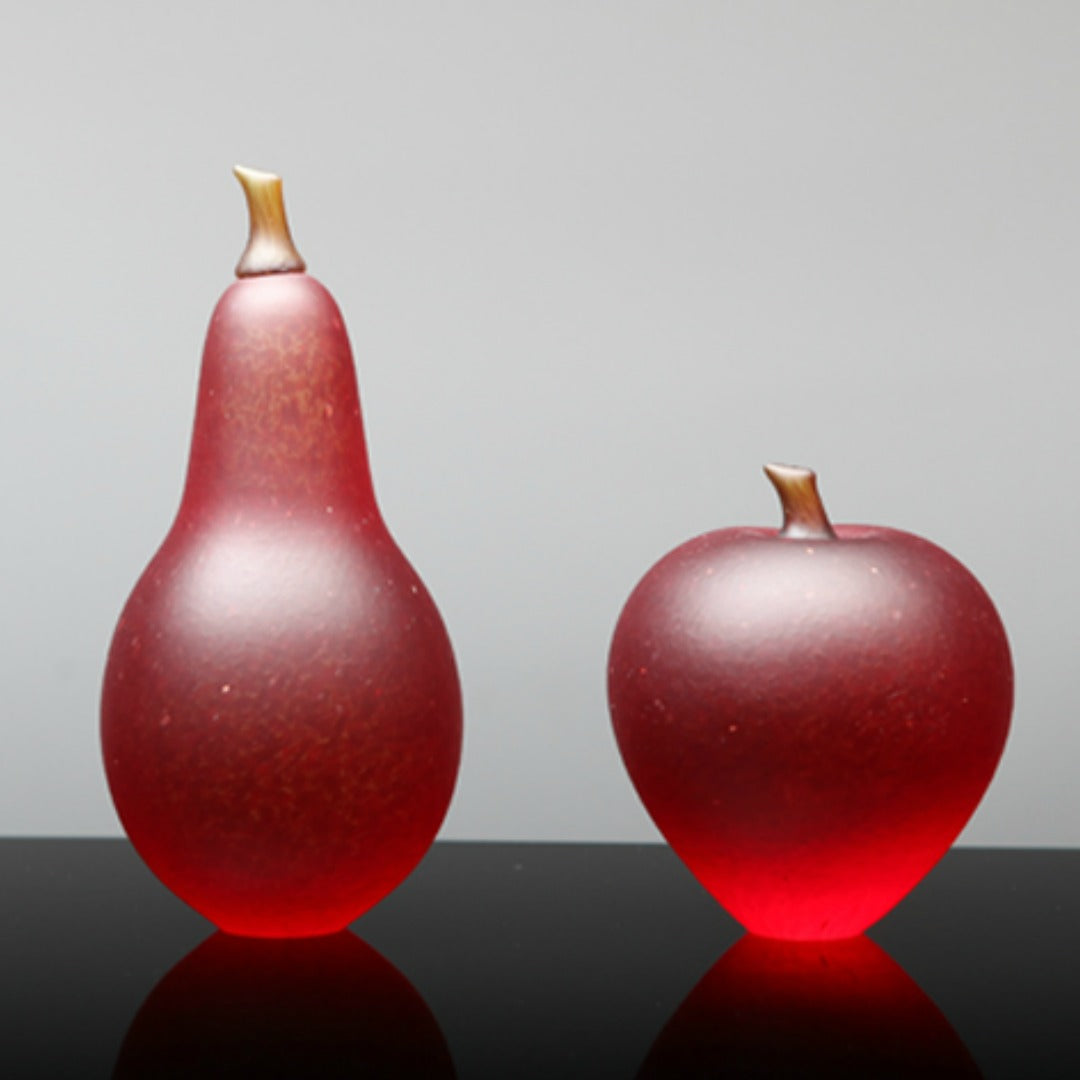 Denizen Hand-Blown Glass ~ Fruit (Red) - Gallery Salamanca Hobart Tasmania