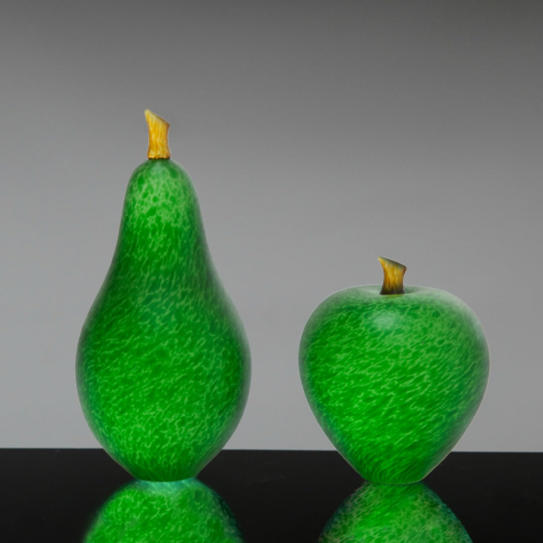 Denizen Hand-Blown Glass ~ Fruit (Spring Green) - Gallery Salamanca Hobart Tasmania