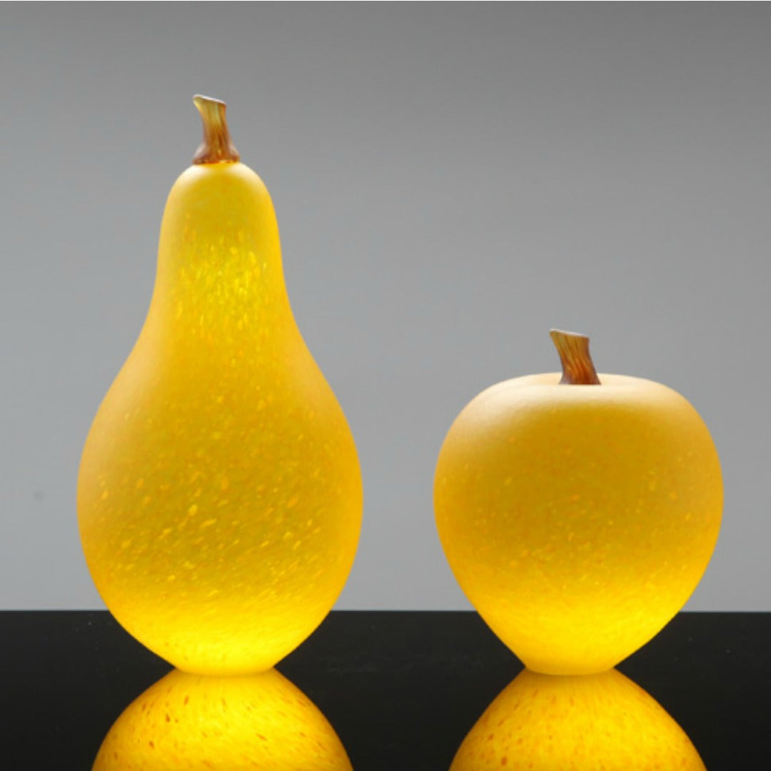 Denizen Hand-Blown Glass ~ Fruit (Yellow) - Gallery Salamanca Hobart Tasmania