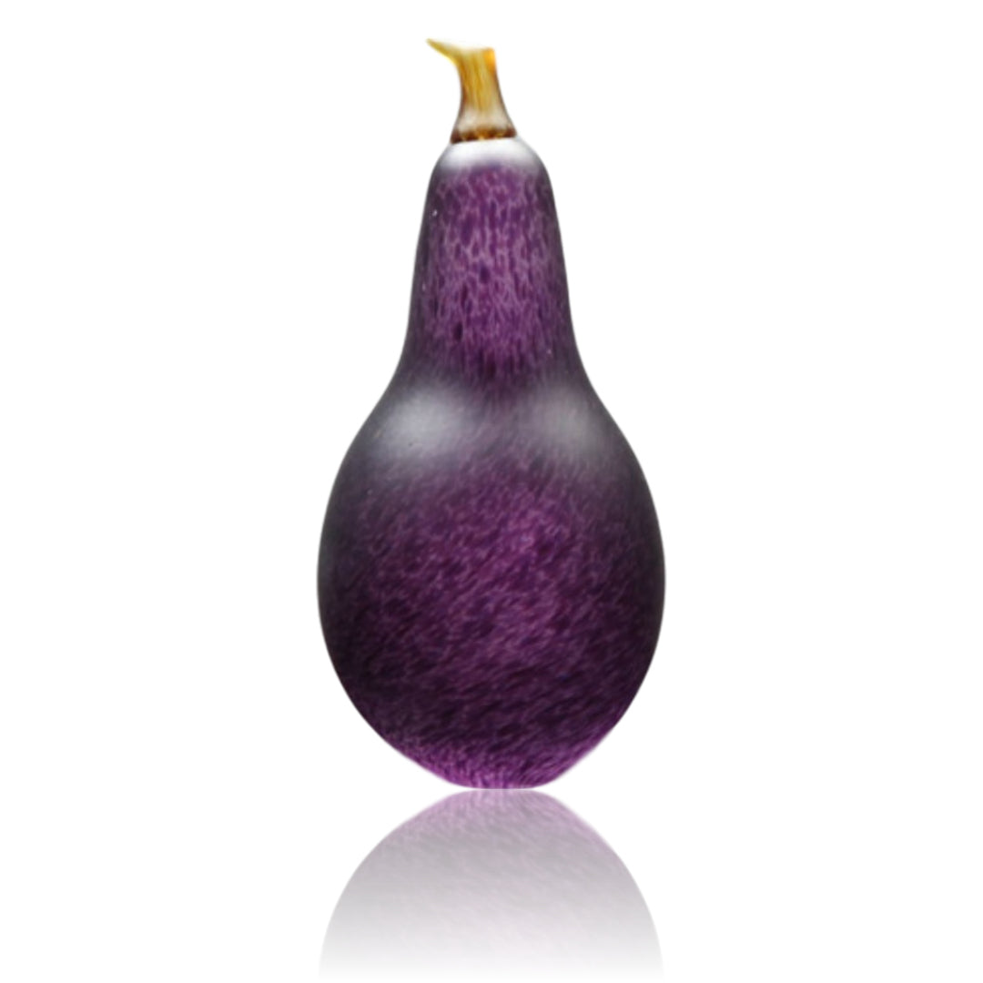 Denizen Hand-Blown Glass ~ Pear (Hyacinth) - Gallery Salamanca Hobart Tasmania
