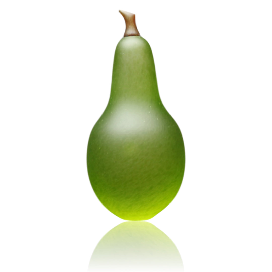 Denizen Hand-Blown Glass ~ Pear (Lime) - Gallery Salamanca Hobart Tasmania