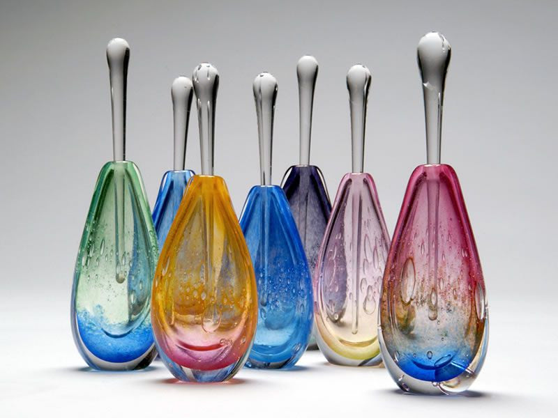 Eileen Gordon ~ Tear Drop Perfume Bottle - Gallery Salamanca