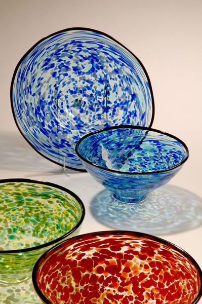 Eileen Gordon ~ Tiffany Bowl (Small) - Gallery Salamanca