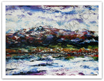 Esther Shohet Painting ~ 'April 4th' - Gallery Salamanca Tasmania
