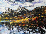 Esther Shohet Painting ~ 'Autumn at Cradle Mountain' - Gallery Salamanca Tasmania