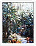 Esther Shohet Painting ~ 'By the Creek' Mt Field - Gallery Salamanca Tasmania