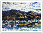 Esther Shohet Painting ~ 'East to West' - Gallery Salamanca Tasmania