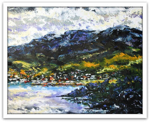 Esther Shohet Painting ~ 'From the Eastern Shore' - Gallery Salamanca