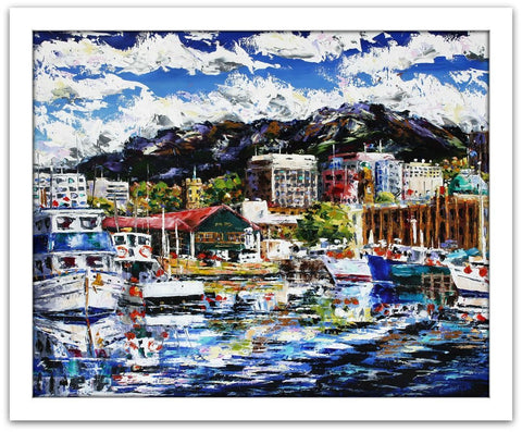 Esther Shohet Painting 'Our Hobart'