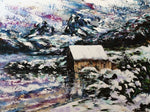 Esther Shohet Painting ~ 'Cradle's Winter' - Gallery Salamanca Tasmania