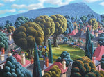 George Callaghan Painting ~ 'Arthur's Circus' - Gallery Salamanca