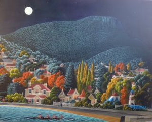 George Callaghan Painting ~ 'Nutgrove Beach - B' - Gallery Salamanca