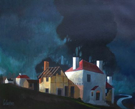 George Callaghan Painting ~ 'On the Road to Athlone' - Gallery Salamanca