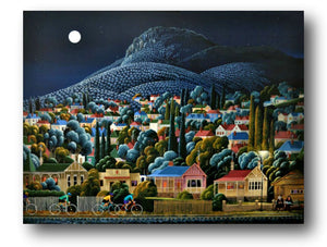 George Callaghan Painting ~ 'Losing Track of Time' - Gallery Salamanca Hobart Tasmania