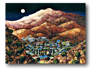 George Callaghan Painting ~ 'Queenstown' - Gallery Salamanca Hobart Tasmania