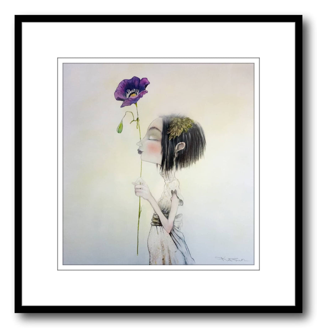 Kate Smith Painting ~ 'Miss Whimsy' - Gallery Salamanca Hobart Tasmania