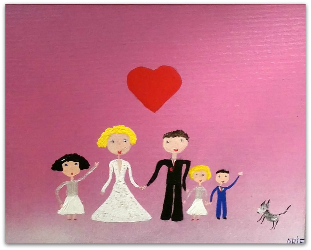 Mark O'Brien (Obie) Painting ~ 'Just Married' - Gallery Salamanca