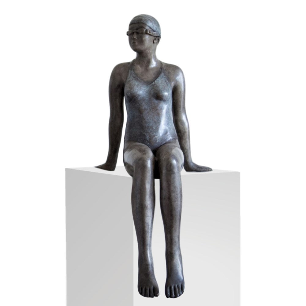 Mela Cooke Bronze Sculpture ~ 'Early Mornings' II - Gallery Salamanca Hobart Tasmania