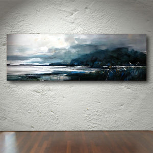 Peter Barraclough Painting ~ 'Towards Bruny' - Gallery Salamanca Hobart Tasmania