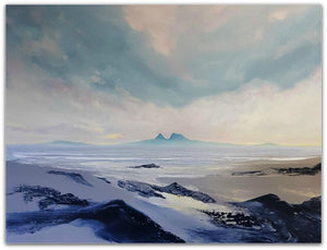 Phillip McKay Painting ~ 'Finding the Cradle' - Gallery Salamanca Hobart Tasmania