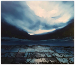 Phillip McKay Painting ~ 'The Pavement' - Gallery Salamanca Tasmania