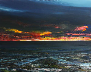 Phillip McKay Painting ~ 'West Coast' - Gallery Salamanca Tasmania