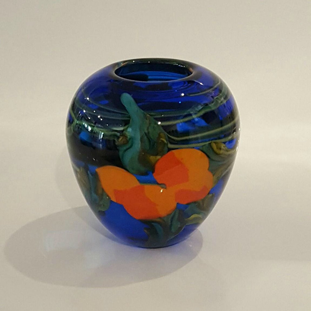 "Roberta Easton ~ ""Les Orange"" Vase - Gallery Salamanca"