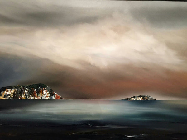 Stuart Clues Painting ~ 'Breath of Stillness at Bruny Island'