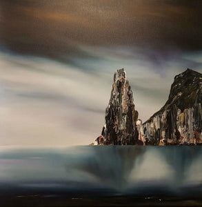 Stuart Clues Painting ~ 'Still Waters at the Cape' - Gallery Salamanca Tasmania