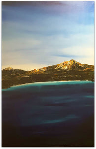 Stuart Clues Painting ~ 'Summer Breeze at Wineglass Bay' - Gallery Salamanca Tasmania