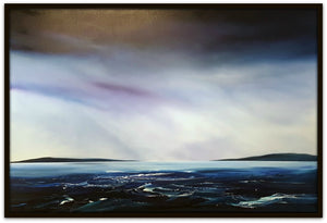 Stuart Clues Painting ~ 'Autumn Rains - Derwent River' - Gallery Salamanca