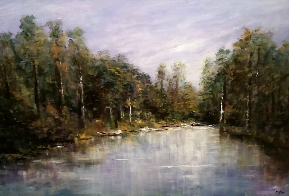 Tony Ryan Painting ~ 'Reflections' - Gallery Salamanca
