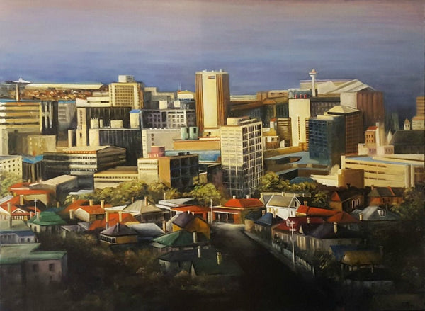 Tony Ryan Painting ~ 'As Evening Draws Near' - Gallery Salamanca Tasmania